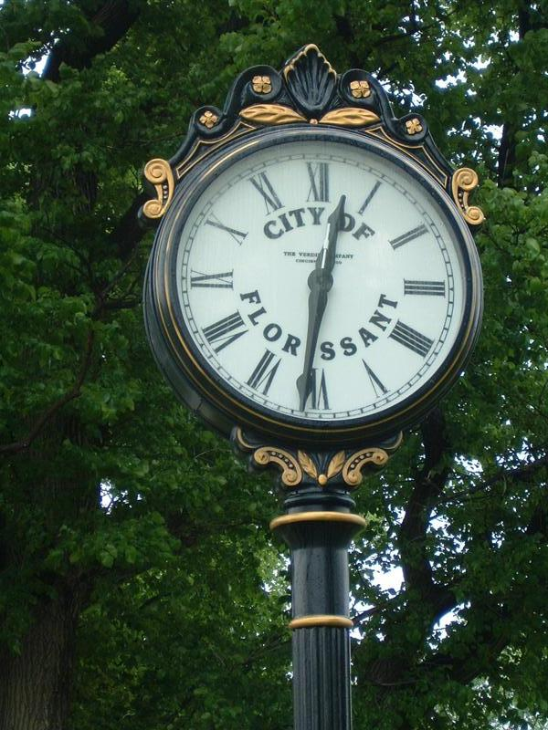 City of Florissant Clock