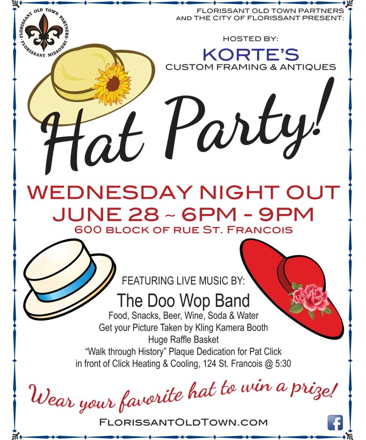 Wednesday Night Out - Hat Party
