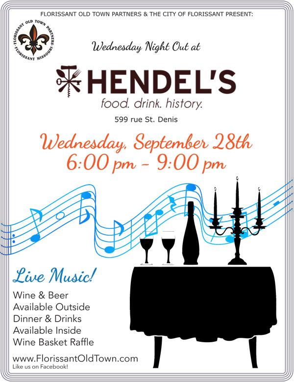 Wednesday Night Out - Hendels @ Hendel's Restaurant   Florissant   Missouri   United States
