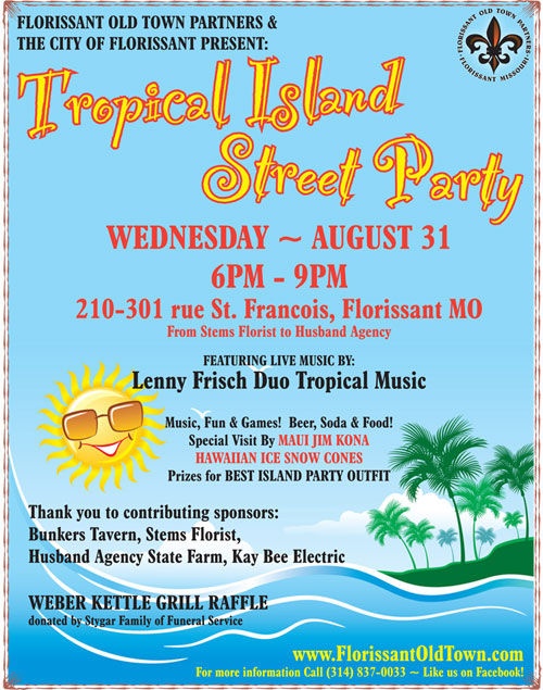 Wednesday Night Out - Tropical Street Party
