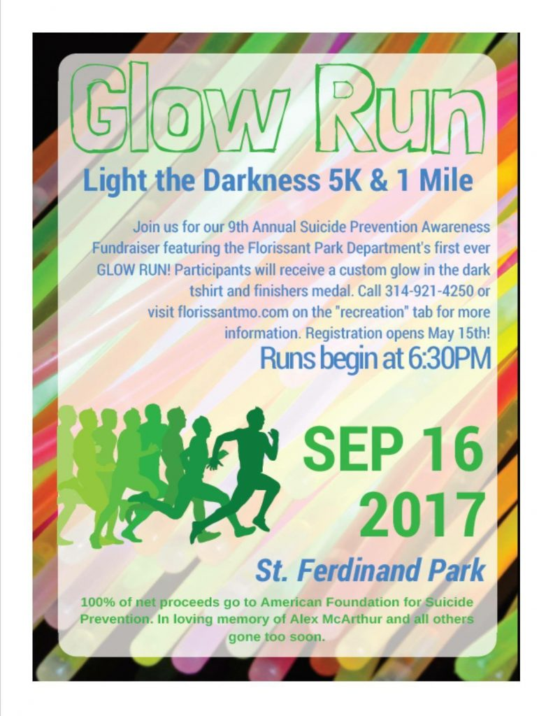 Glow Run: Light the Darkness 5K & 1 Mile
