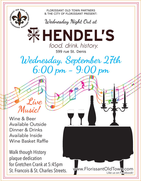 Wednesday Night Out - Hendel's