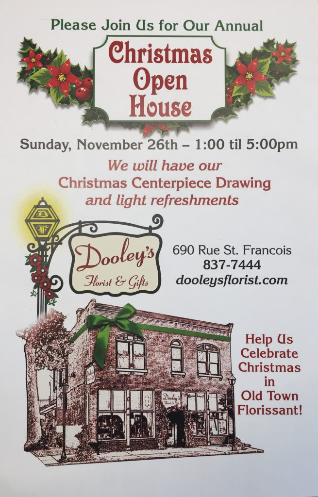 Dooley's Florist Christmas Open House