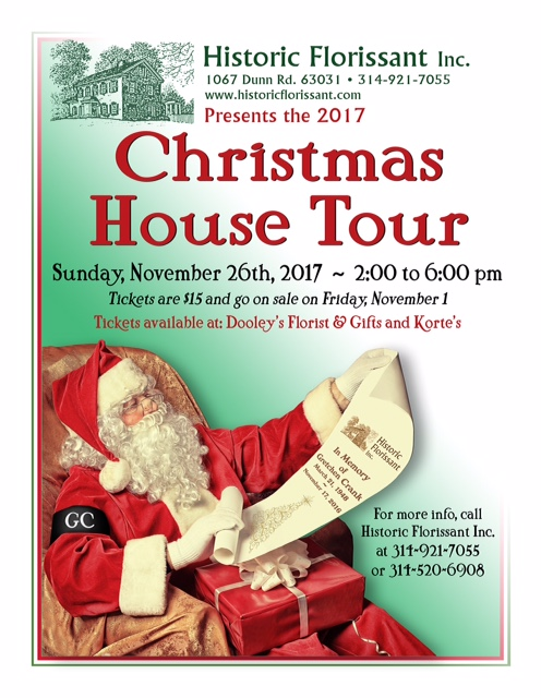 Historic Florissant Christmas House Tour