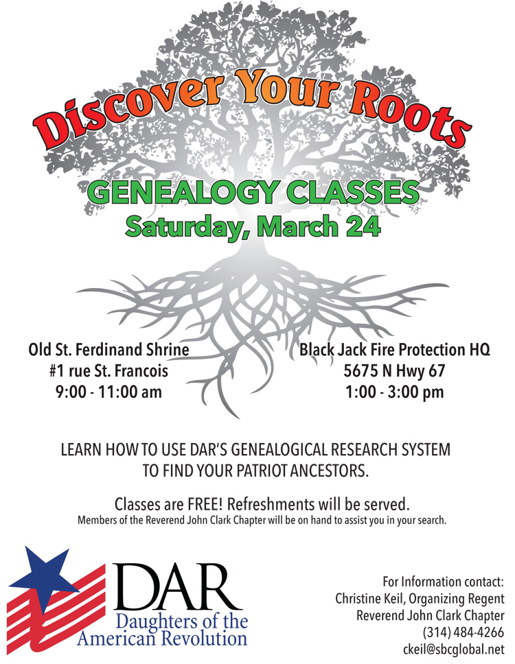 Genealogy Classes