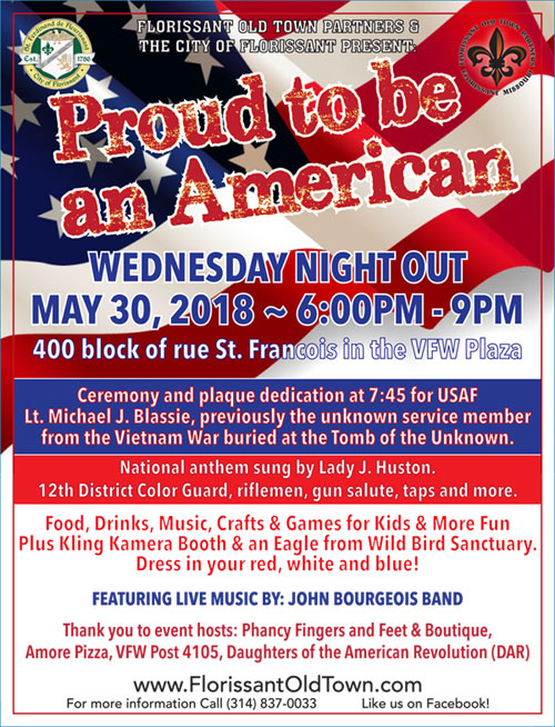 Wednesday Night Out: Proud to be an American